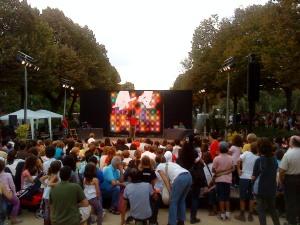 Foto Ascensión Moreno. Barcelona. La Mercè 2009