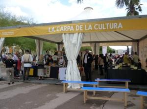La carpa de la cultura Barcelona 2012