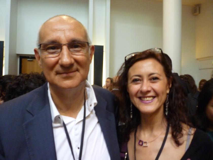 Jorge Barudy y Ascensión Moreno_Paris 2012_Congreso mundial de resiliencia