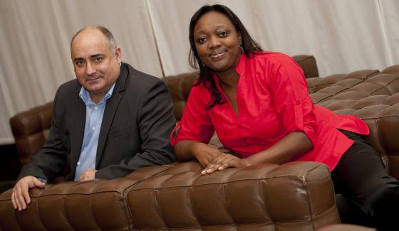 Josep Almería y Paula Marcela Moreno_publicada en El País