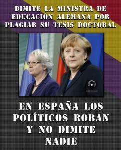 dimisión políticos corruptos en España