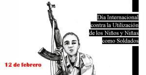 Dia internacional contra los niños soldado