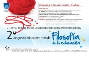 2 Congreso Latinoamericano de Filosofía de la Educación