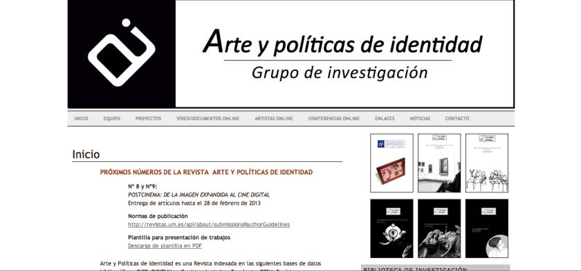 Arte y politicas de identidad
