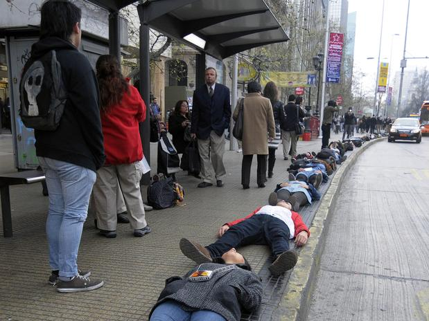 Chile La Alameda 11S