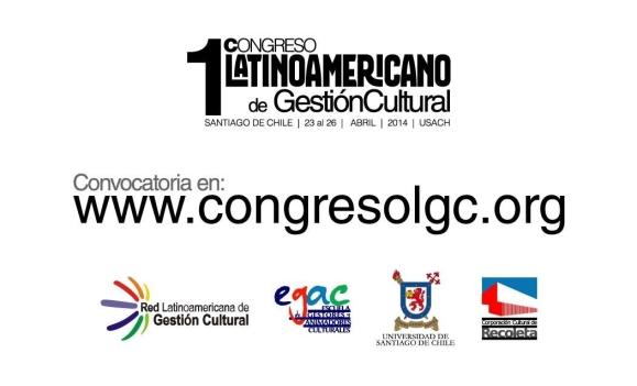 1 congreso latinoamericano Gestión Cultural