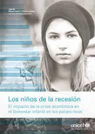 Los niños de la recesión