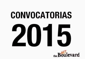 Listado convocatorias para artistas 2015
