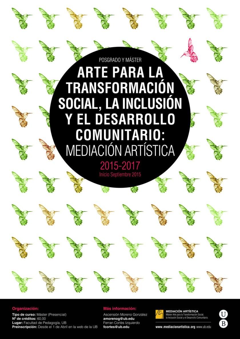 Máster Mediación Artística 2015