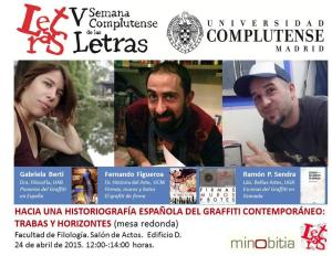 Hacia una historiografía del graffiti español contemporáneo