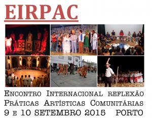 Encontro Internacional de Reflexão sobre Práticas Artísticas Comunitárias