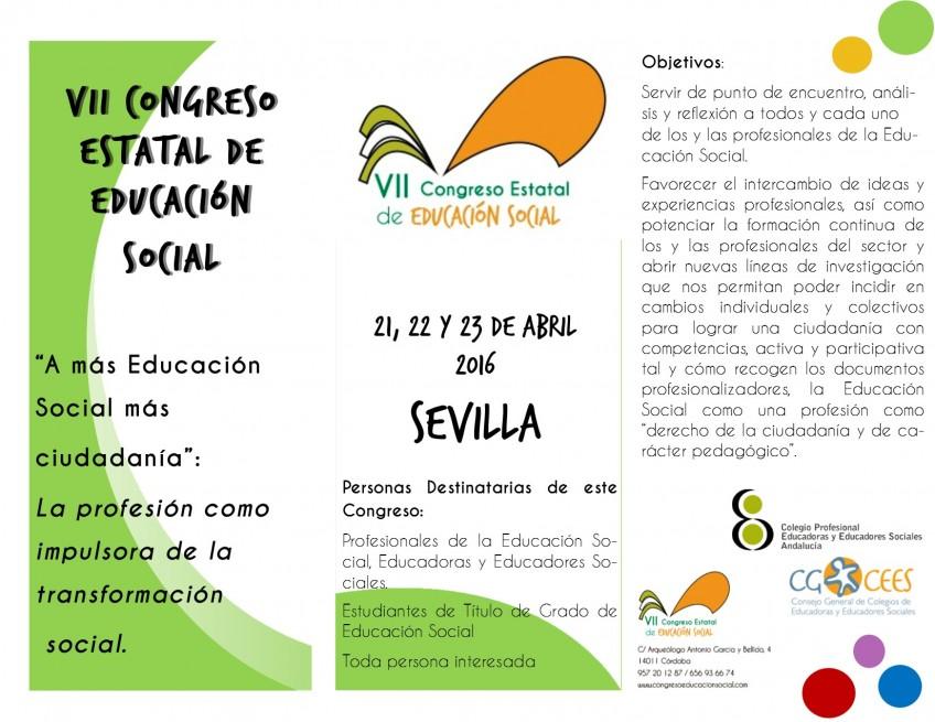 congreso estatal educacion social