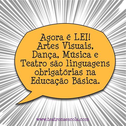 Las Artes: enseñanza obligatoria en Brasil