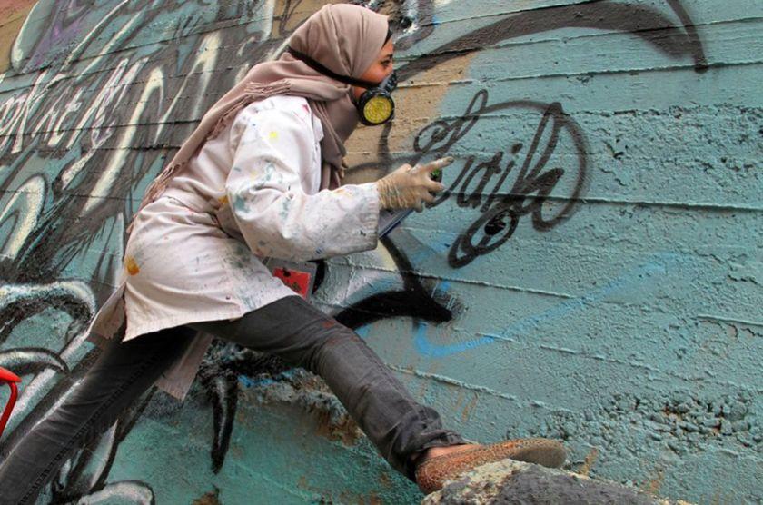 grafiteras árabes