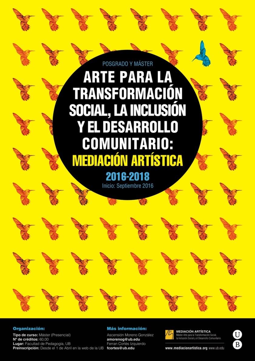 Máster Mediación Artística 16-18