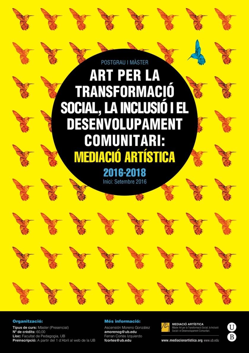 Màster mediació Artística 16-18