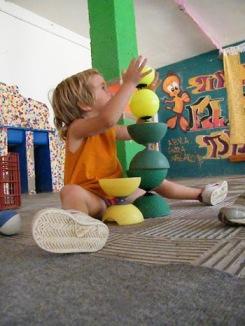 Descobrint el circ a edats primerenque a l'Escola de Circ Saltimbanqui