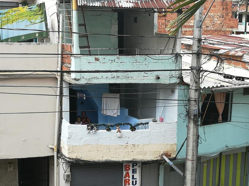 Comuna 13. Medellín. Foto: Ascensión Moreno